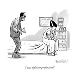 """""""I was different people then!"""" - New Yorker Cartoon"""
