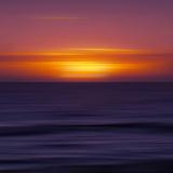 Scenery Art Florida Sunset Reproduction d'art par Melanie Viola
