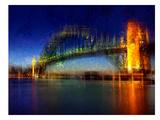 City Art Sydney Reproduction d'art par Melanie Viola