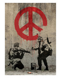Paix Reproduction d'art par Banksy