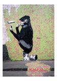 Gorille Giclée par Banksy