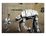 I am your father Reproduction d'art par Banksy