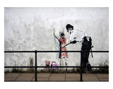 Stop and search Reproduction d'art par Banksy