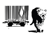 Barcode Reproduction d'art par Banksy