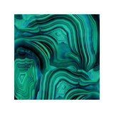 Malachite in Green and Blue Giclée par Danielle Carson