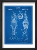 Military Missile Patent Reproduction encadrée
