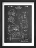 Vintage Bathing Suit Patent 1940 Reproduction encadrée