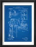 Max Fleischer Patent Reproduction encadrée