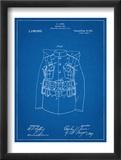 Military Coat Patent Reproduction encadrée