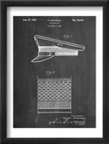 Military Cap Patent Reproduction encadrée