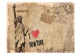 Post Card New York