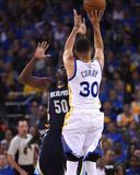 Stephen Curry 30 - Golden State Warriors vs Memphis Grizzlies  April 13  2016