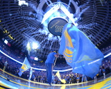 Golden State Warriors are Introduced - Golden State Warriors vs Memphis Grizzlies  April 13  2016