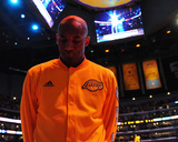 Kobe Bryant 24 Before his Last Game - Los Angeles Lakers vs Utah Jazz  April 13  2016