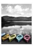 Kayaks Pastels