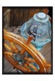 Old Sailboat's Ship Wheel