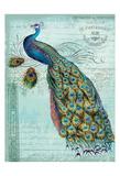 Peacock Teal Nouveau 1