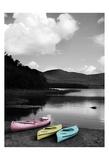 Kayak Pastels