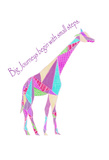 Colorpoly Giraffe Big Journeys