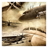 Vintage Plane Montage 82530