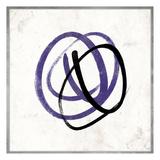 Abstract Circle Mate Purple