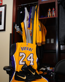 Kobe Bryant's 24 Locker for His Last Game - Los Angeles Lakers vs Utah Jazz  April 13  2016