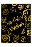 Golden Birthday Wishes