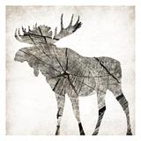 Wood Moose Mate