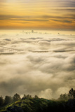 Everything Went Magical  Sunrise Fog Envelopes Golden Gate Bridge  San Francisco