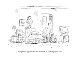 """""""I thought we agreed that the bedroom is a Trump-free zone"""" - New Yorker Cartoon"""