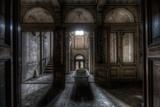 Haunted Interior Bathroom Papier Photo par Nathan Wright
