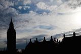 Big Ben Silhouette  London