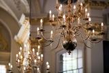 Lamps in Saint Martin in the Fields Church  London