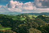 Facing East From Oakland Hills  Mount Diablo  Northern California