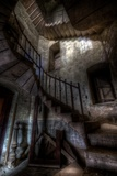 Haunted Interior Stairway