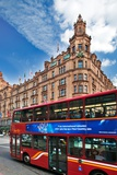 Harrods Building with London Bus