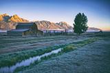 Mellow Summer Morning at Mormon Row  Grand Teton Wyoming