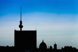 Urban City Scene in Berlin  Germany