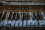 Haunted Interior with Piano