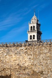Templar Castle  Town of Ponferrada in Spain