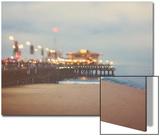 A Pier in Summer in USA Acrylique par Myan Soffia