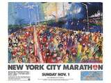 New York City Marathon 1987
