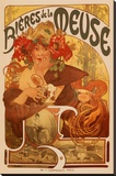 Mucha - Bieres de la Meuse