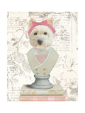 Canine Couture Newsprint II