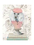 Canine Couture Newsprint IV