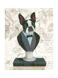 Canine Couture Newsprint I