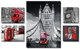 Londres Tableau multi toiles