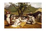 L'Arabe Diseur de Contes  1833