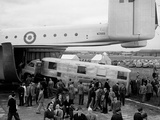 Blackburn Beverley Freighter Transport at the Farnborough Air Show  1954