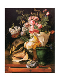 Roses and other Flowers  Shell  Shark Head Skull and Petrifactions  1819